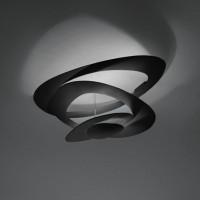 Pirce Mini Soffitto LED, schwarz