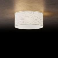 Vita 3 Deckenleuchte, Ø: 40 cm, Wellenoptik Weiß