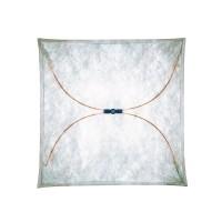 Ariette Wand- / Deckenleuchte, 80 x 80 cm, Stoff