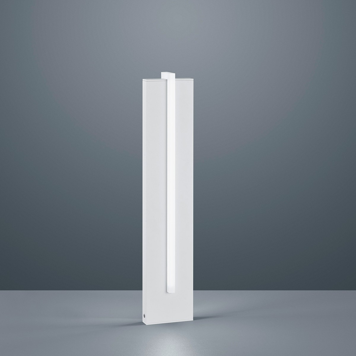 Helestra Oki LED Pollerleuchte, weiß matt