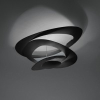 Pirce Soffitto LED, schwarz