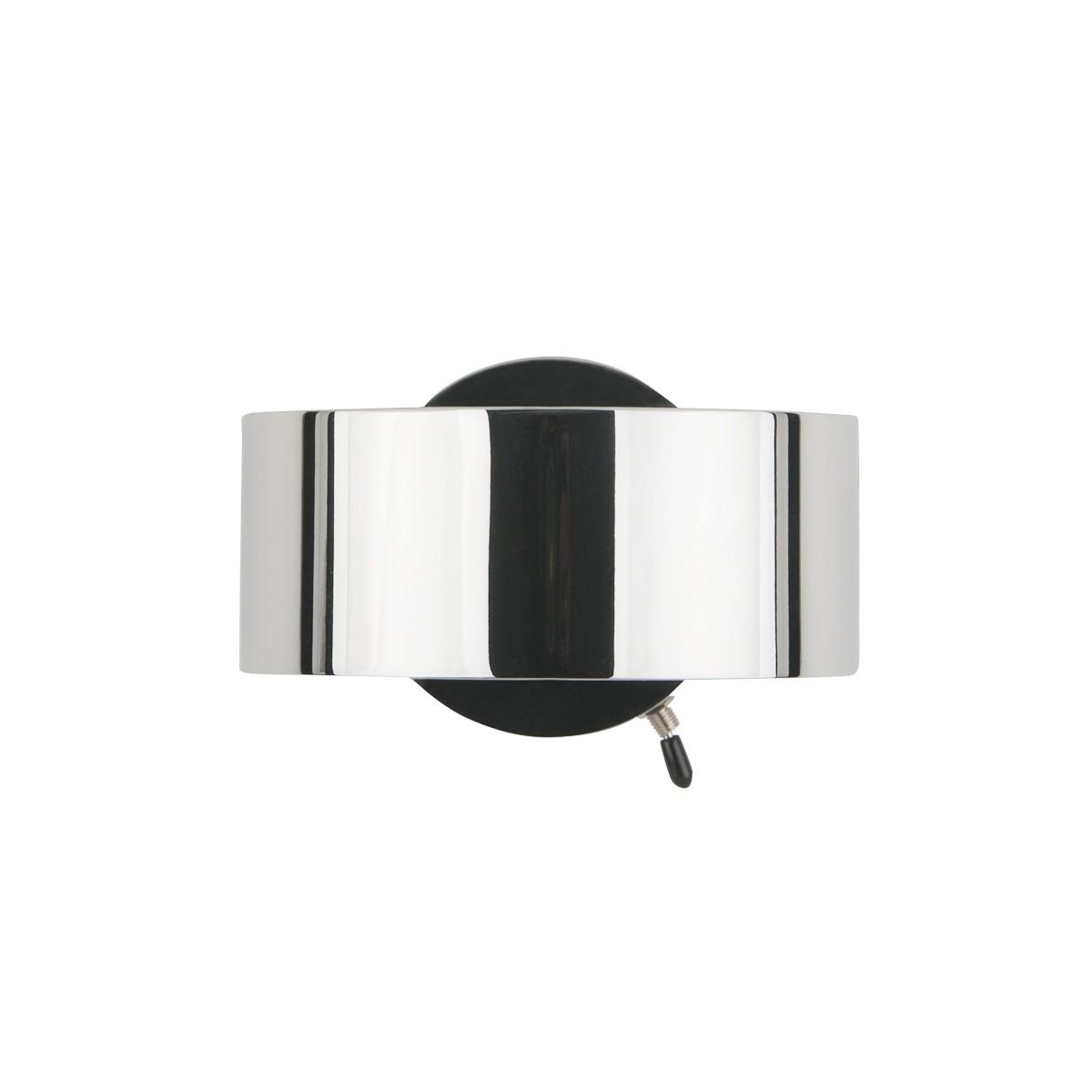 Top Light Puk Maxx Wall + Wandleuchte, mit Schaltereinbau, Chrom