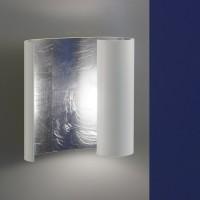 Luce Elevata by Bankamp Embrace LED Wandleuchte, Rückläufer, Blattsilberoptik / weiß