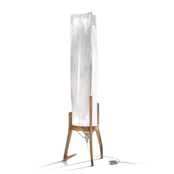 Slamp Battista Floor, white/fumé (weiß/fumé)