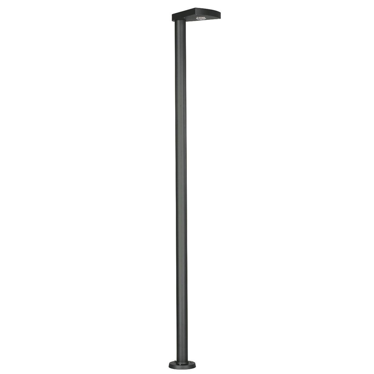 Albert 0866 LED Mastleuchte, schwarz