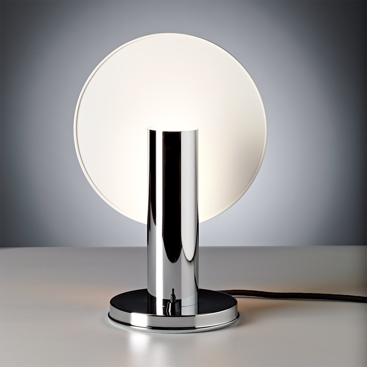 Tecnolumen Nachttischleuchte DS 36, Chrom glänzend