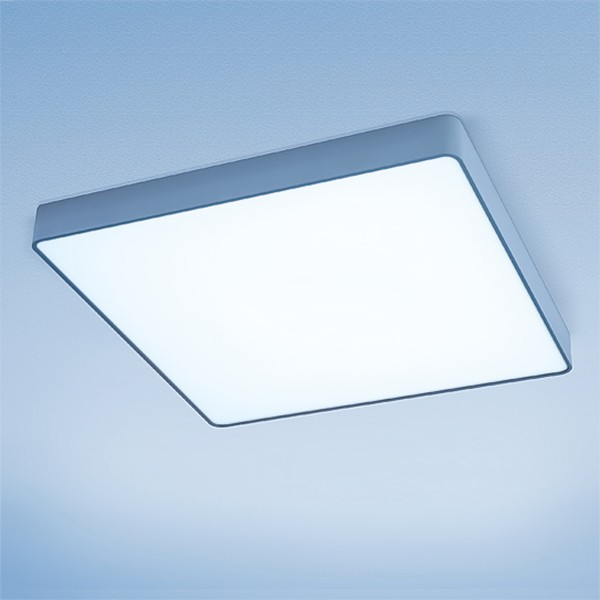 Lightnet Caleo-A2 Wand- / Deckenleuchte, Opal, Silber matt