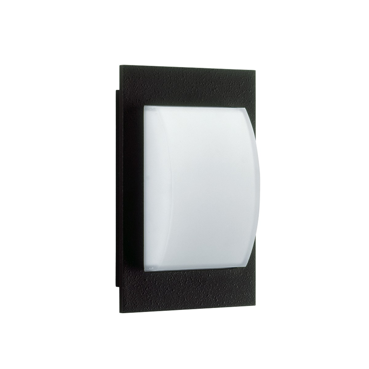 Albert 6208 Wand- / Deckenleuchte, schwarz