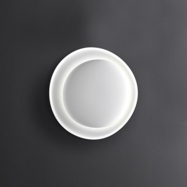 Foscarini Bahia Parete / Soffitto LED, mini, bianco (weiß)