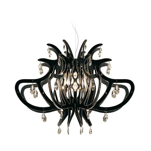 Slamp Medusa Suspension, black (schwarz)