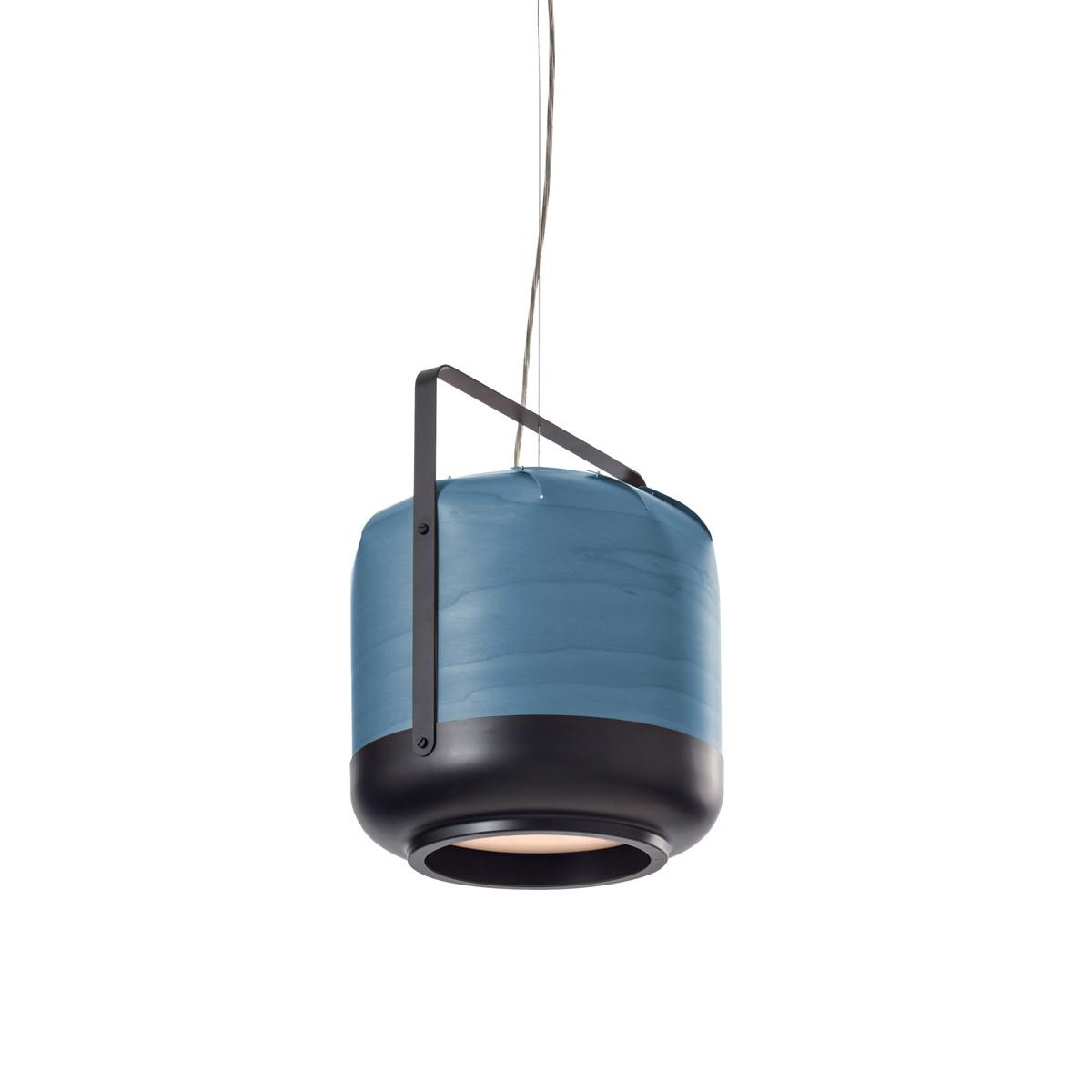 LZF Lamps Chou Short Pendelleuchte, blau