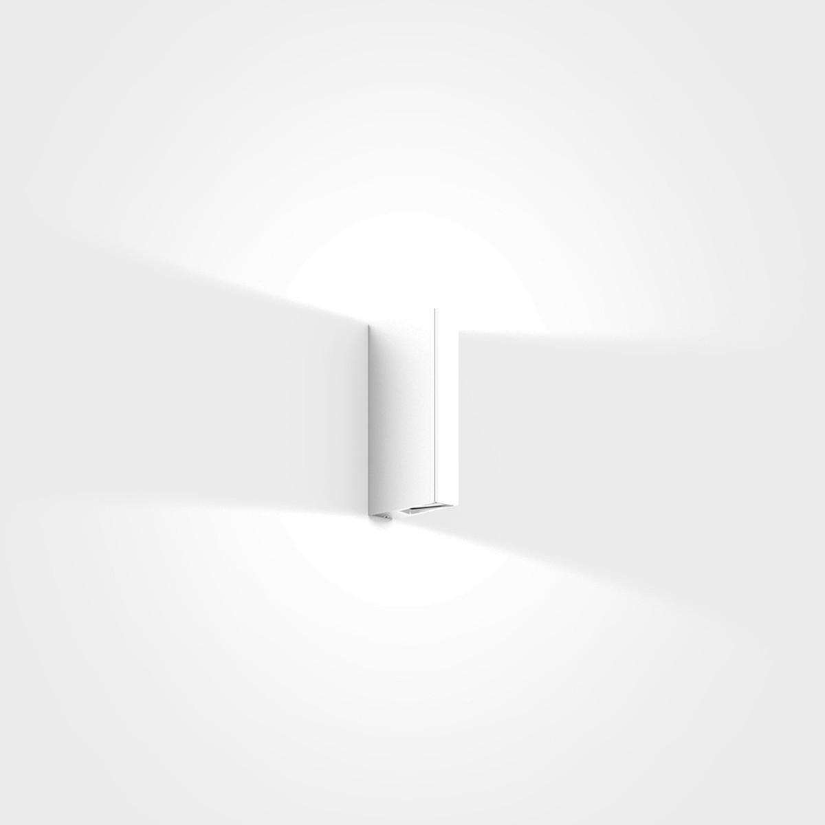 IP44.de Gap Y LED Außenwandleuchte, pure white (weiß)