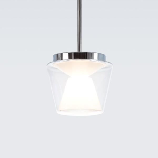 Serien.lighting Annex Suspension Medium, Schirm klar / opal