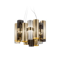 La Lollo M Suspension, gold/fumé (Gold/grau)