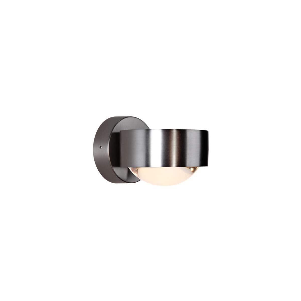 Top Light Puk Wall LED Wandleuchte, Nickel matt
