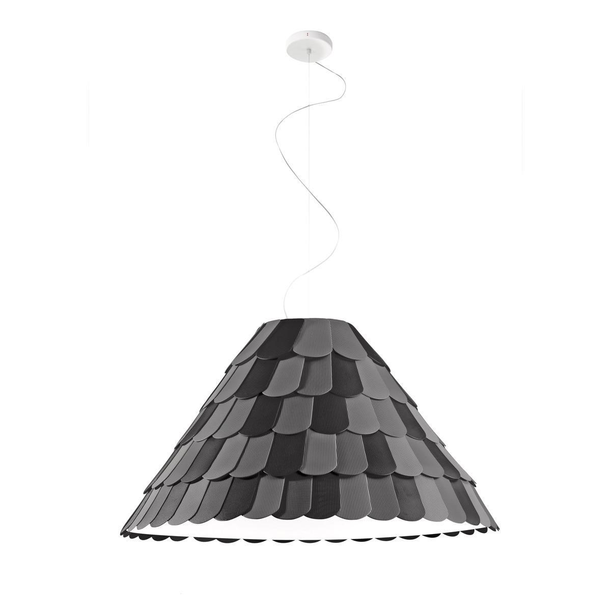 Fabbian Roofer Pendelleuchte A03, schwarz