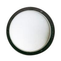 6028 Außenwandleuchte, schwarz, Ø: 25 cm