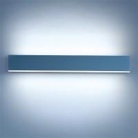 Matric-W4 Wandleuchte, Mikroprismatik, Länge: 60 cm, Aluminium natureloxiert