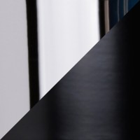 Puk Quartett LED Pendelleuchte, Gehäuse, schwarz / Chrom