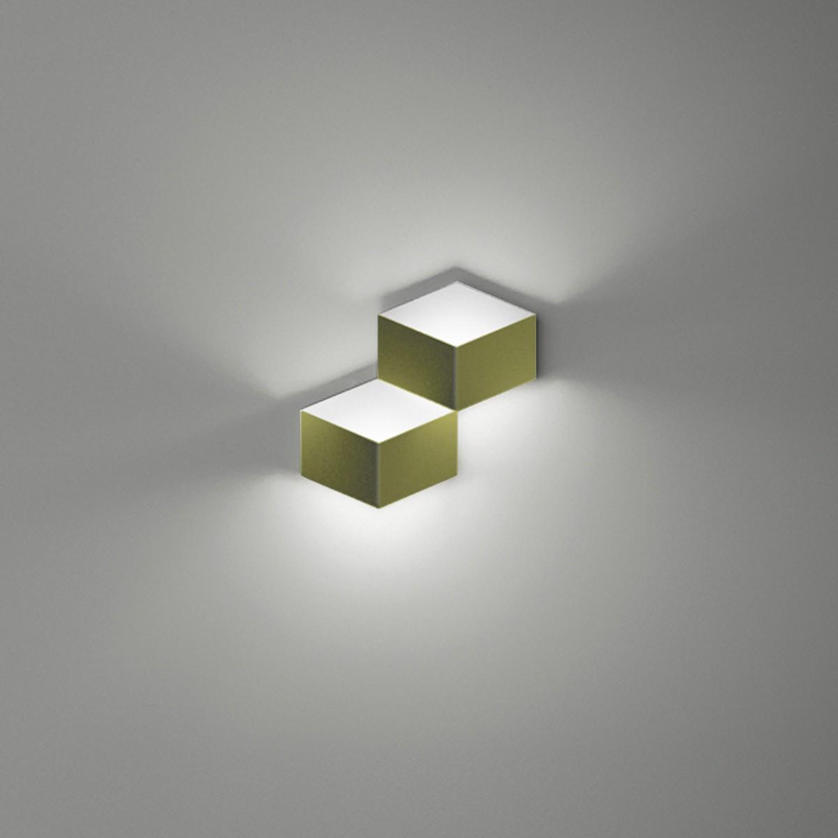 Vibia Fold 4201 Wandleuchte, grün matt