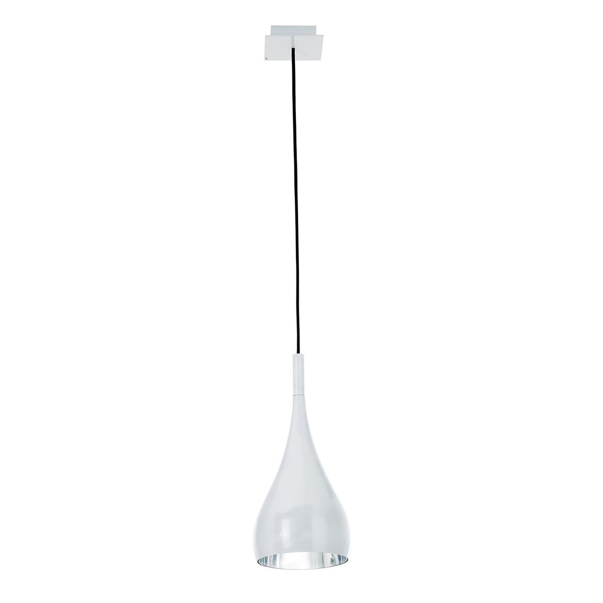 Fabbian Bijou Pendelleuchte, weiß, Ø: 16 cm
