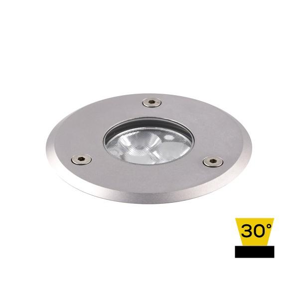 LCD Außenleuchten 1451/1461 Bodeneinbaustrahler LED, Edelstahl