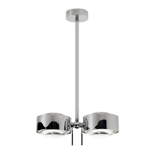 Top Light Puk Maxx Side Twin, 40 cm, Chrom, Linse klar / Linse klar