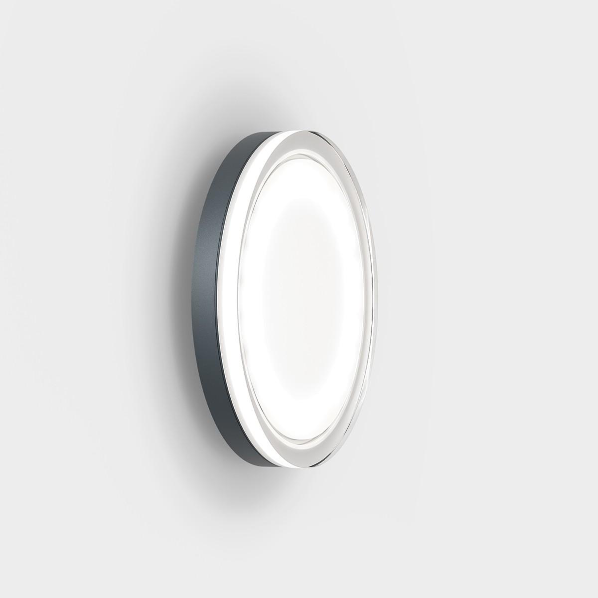 IP44.de Lisc LED Außenwand- / Deckenleuchte, anthracite (anthrazit)