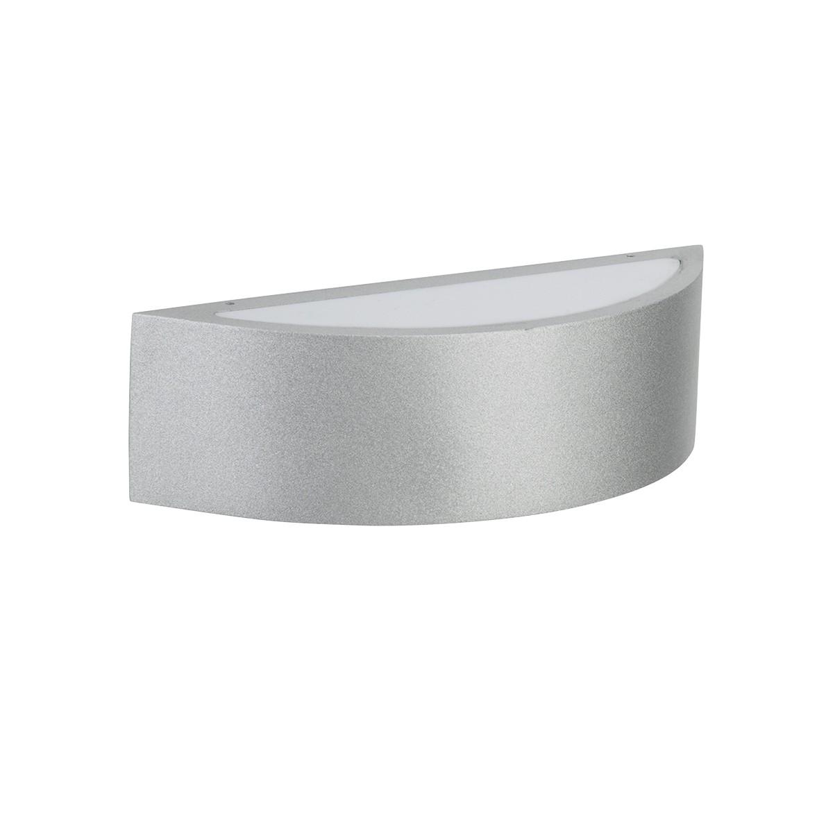 Albert 6322 Außenwandleuchte LED, Silber