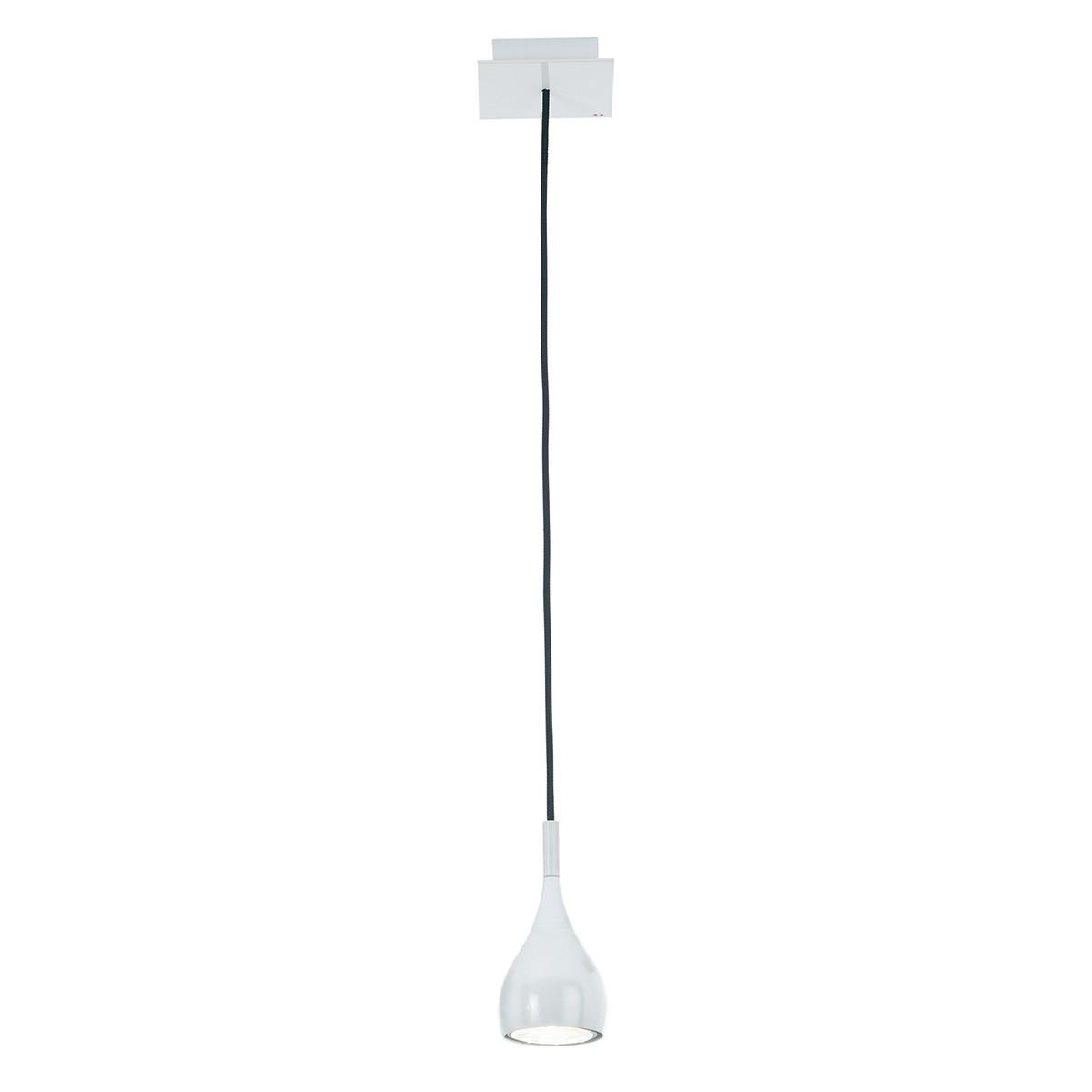 Fabbian Bijou Pendelleuchte, weiß, Ø: 7,8 cm