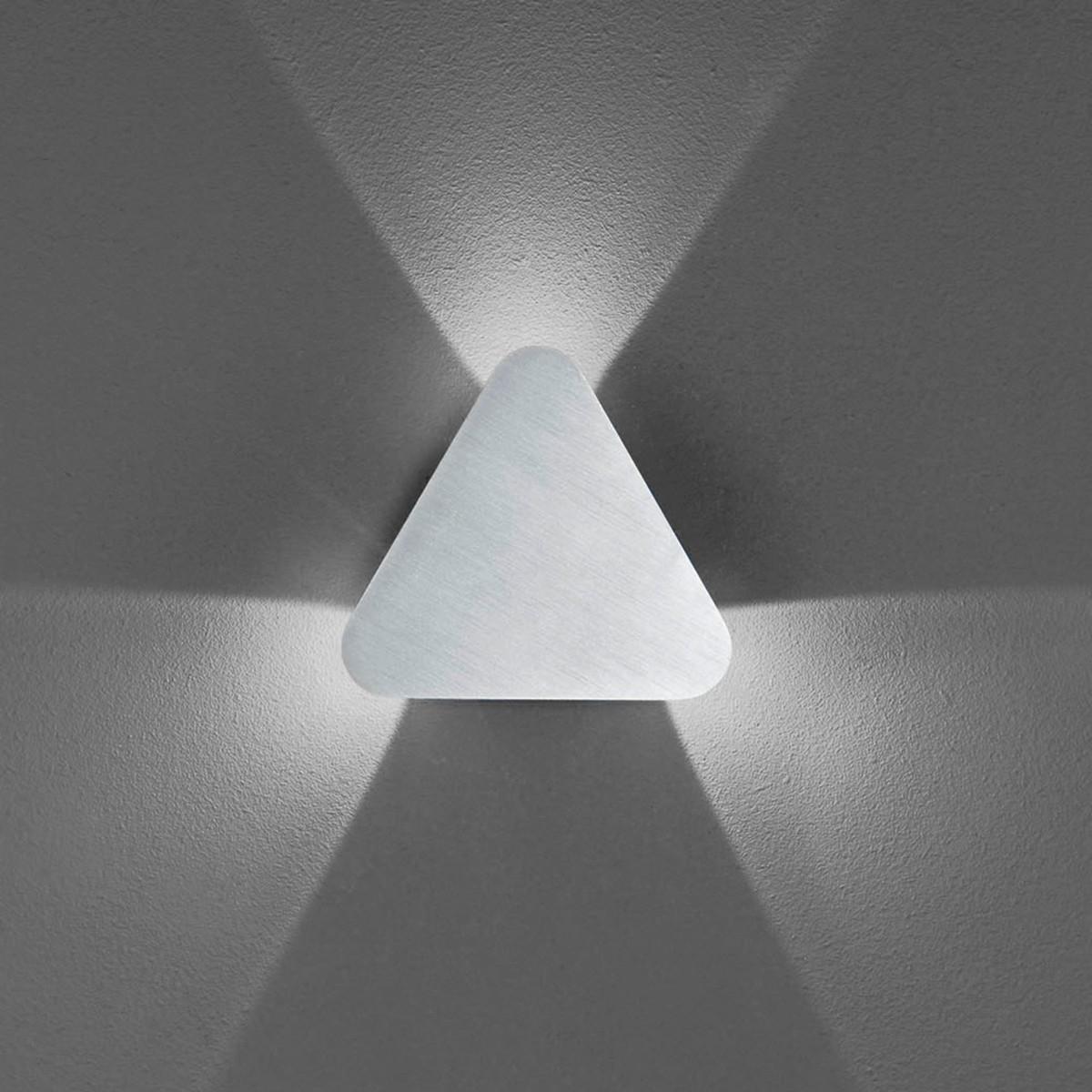 B-Leuchten Prince 40225 Wandleuchte, Aluminium