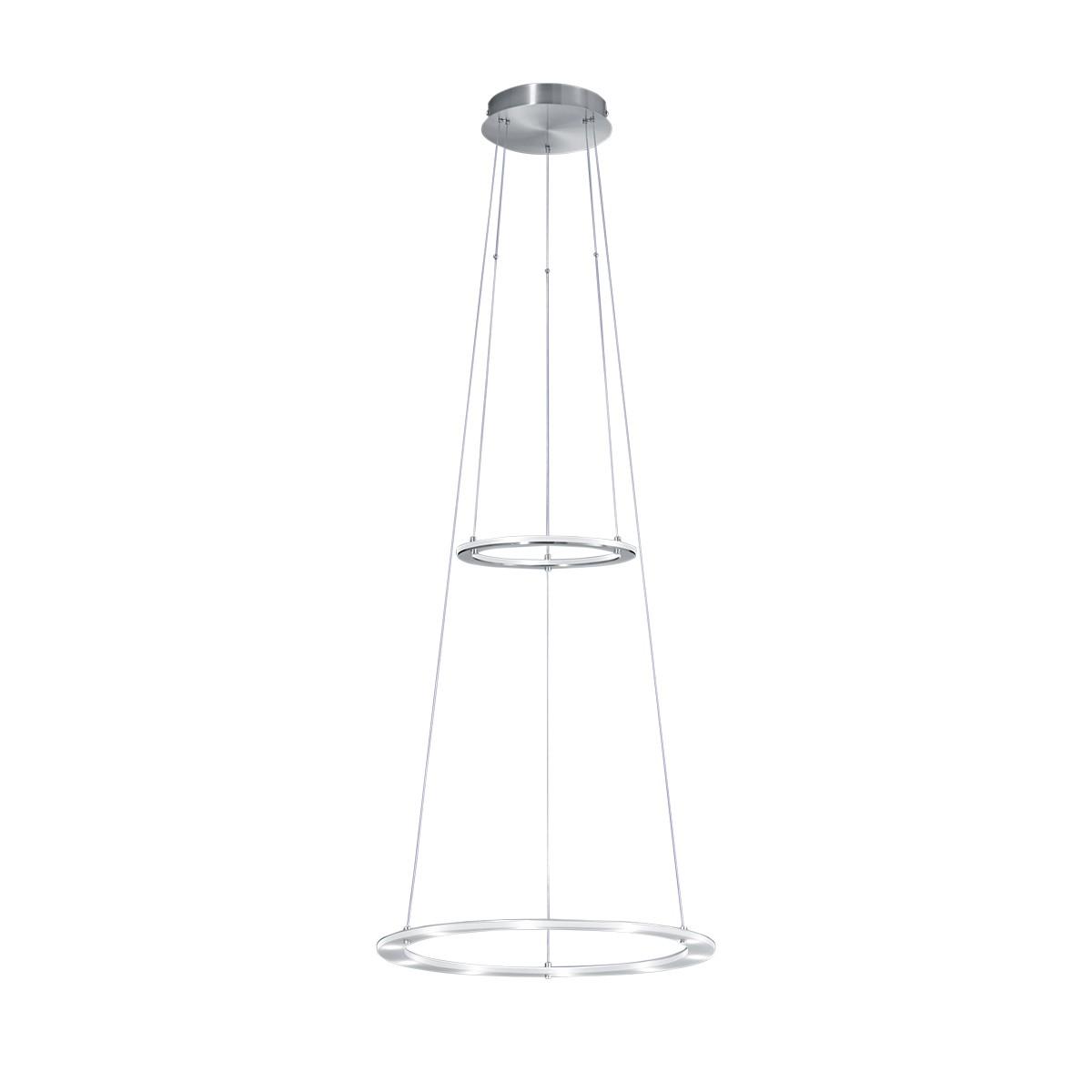 B-Leuchten Mica LED Pendelleuchte, Ring klein: Indirektlicht
