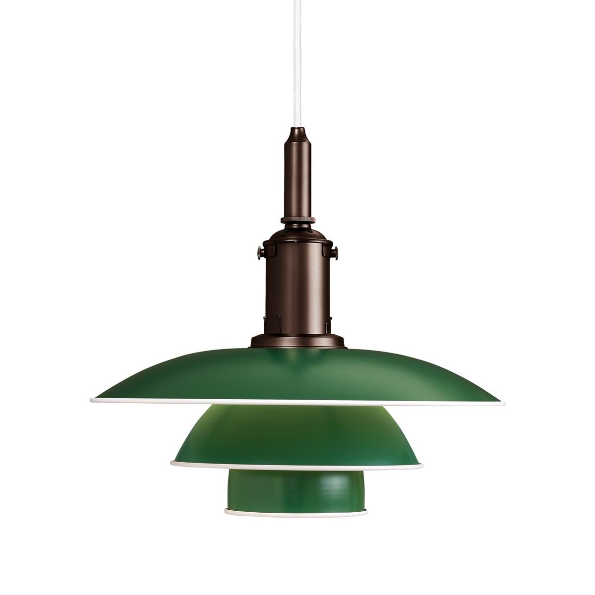 Louis Poulsen PH 3½-3 Pendelleuchte, grün