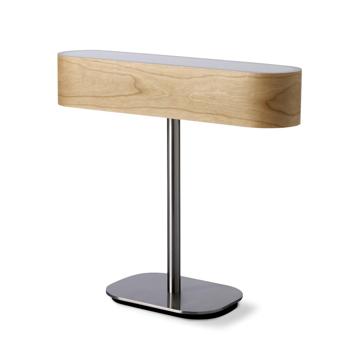 LZF Lamps I-Club LED Tischleuchte, Schirm: Kirsche