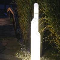 Light Star Trio Stehleuchte IP45, Höhe: 140 cm