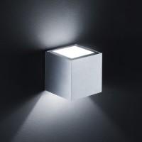 Siri Streuscheibe, Aluminium matt, Glas satiniert