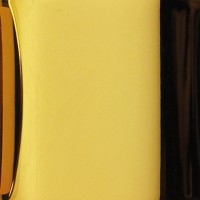 Puk Maxx One 2 LED Deckenleuchte, Gehäuse, 24 Karat vergoldet / Chrom