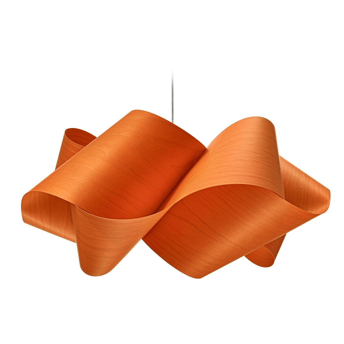 LZF Lamps Swirl Large Pendelleuchte, orange