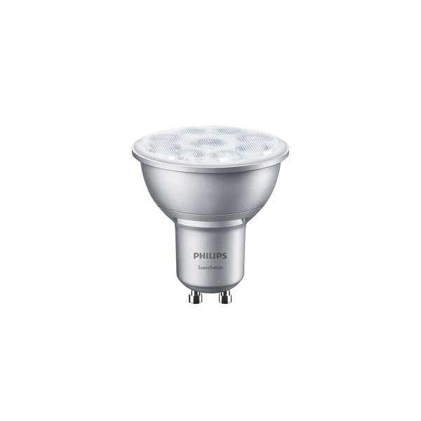 Philips LED Reflektor GU10 1,3/2,8/4,5 W, SceneSwitch, 36° Abstrahlwinkel