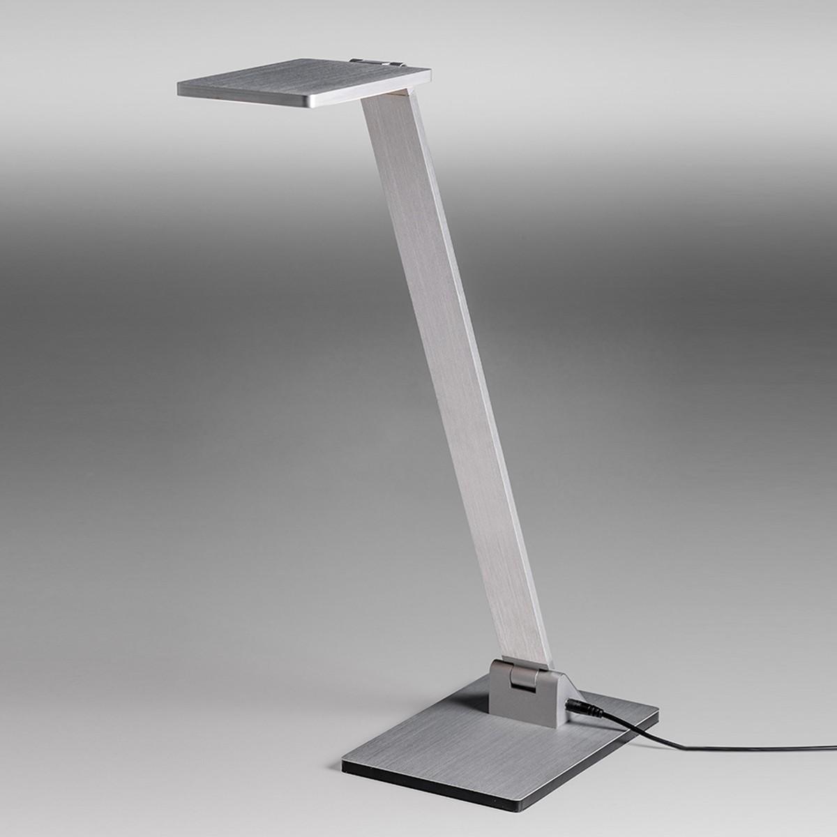 Lupia Licht Magister Tischleuchte, Aluminium matt