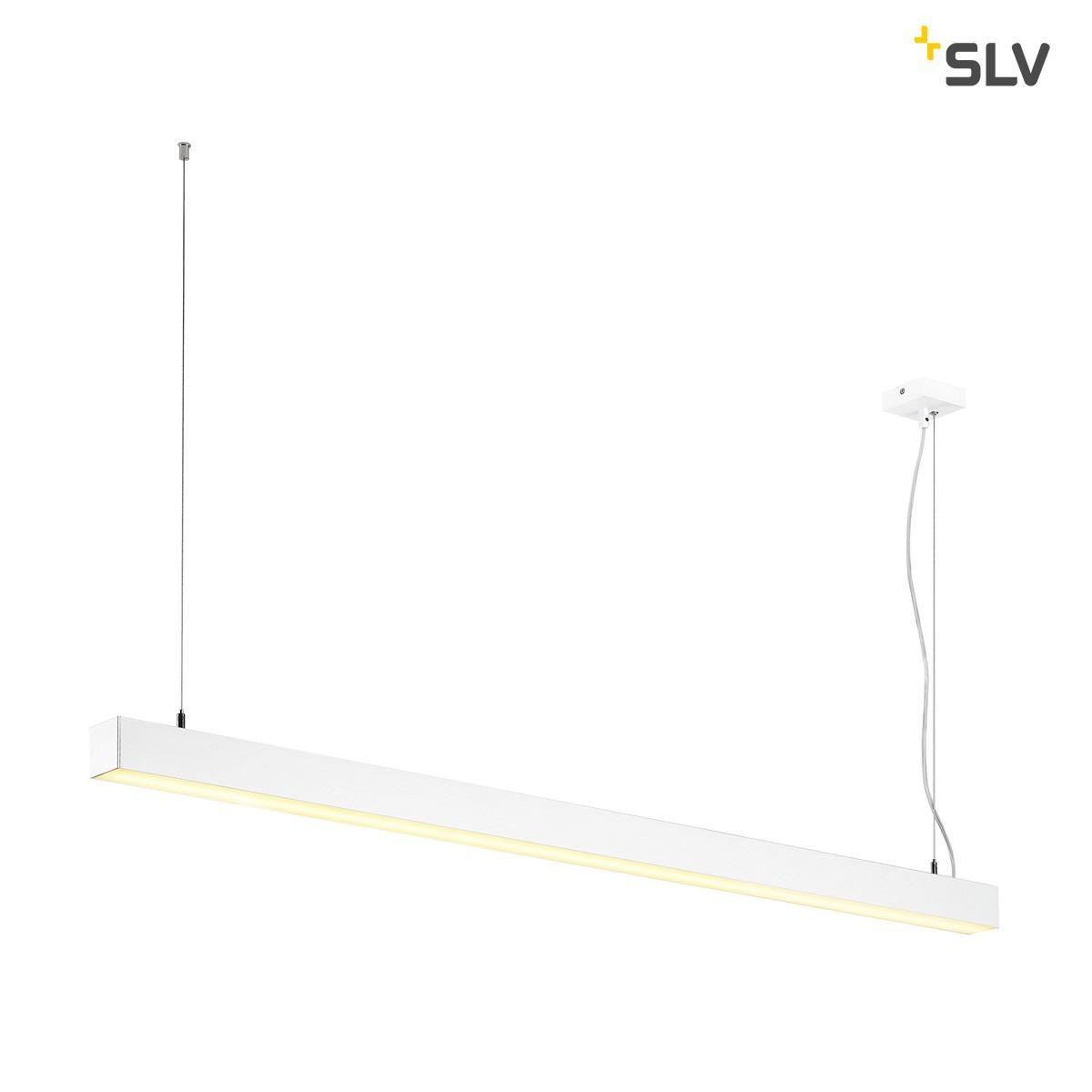 SLV Q-Line Single Pendelleuchte, weiß