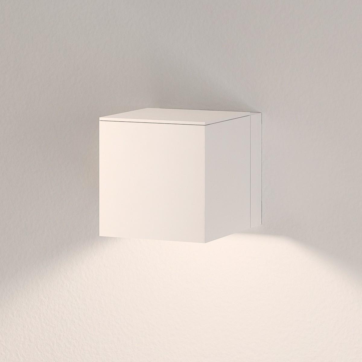 Milan Dau LED Wandleuchte, 1. Generation, weiß lackiert