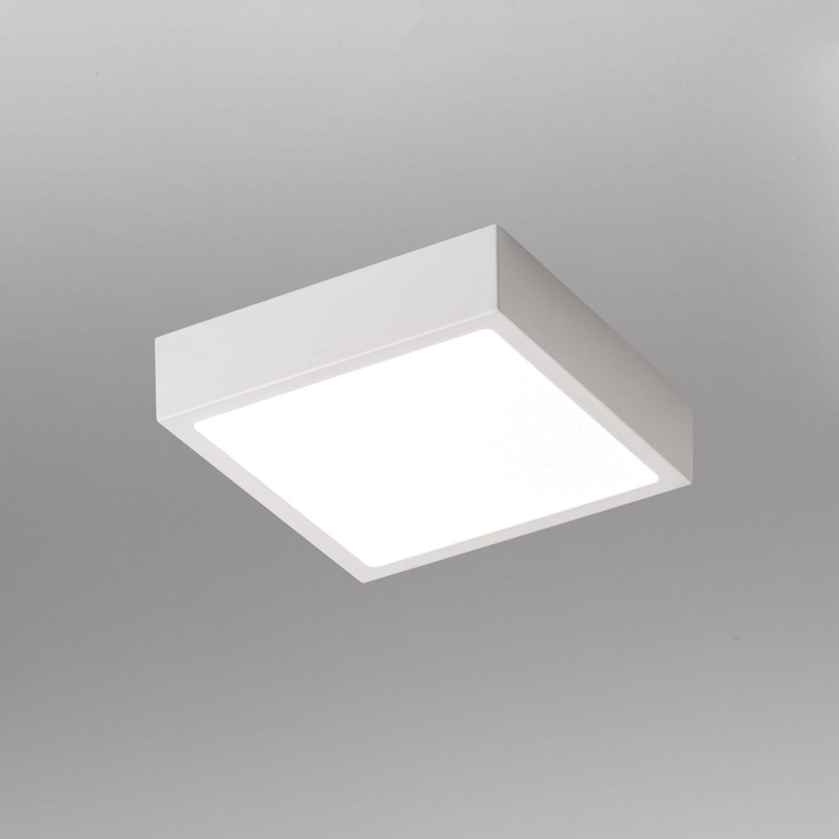 Lupia Licht Venox Deckenleuchte, 17 x 17 cm, weiß