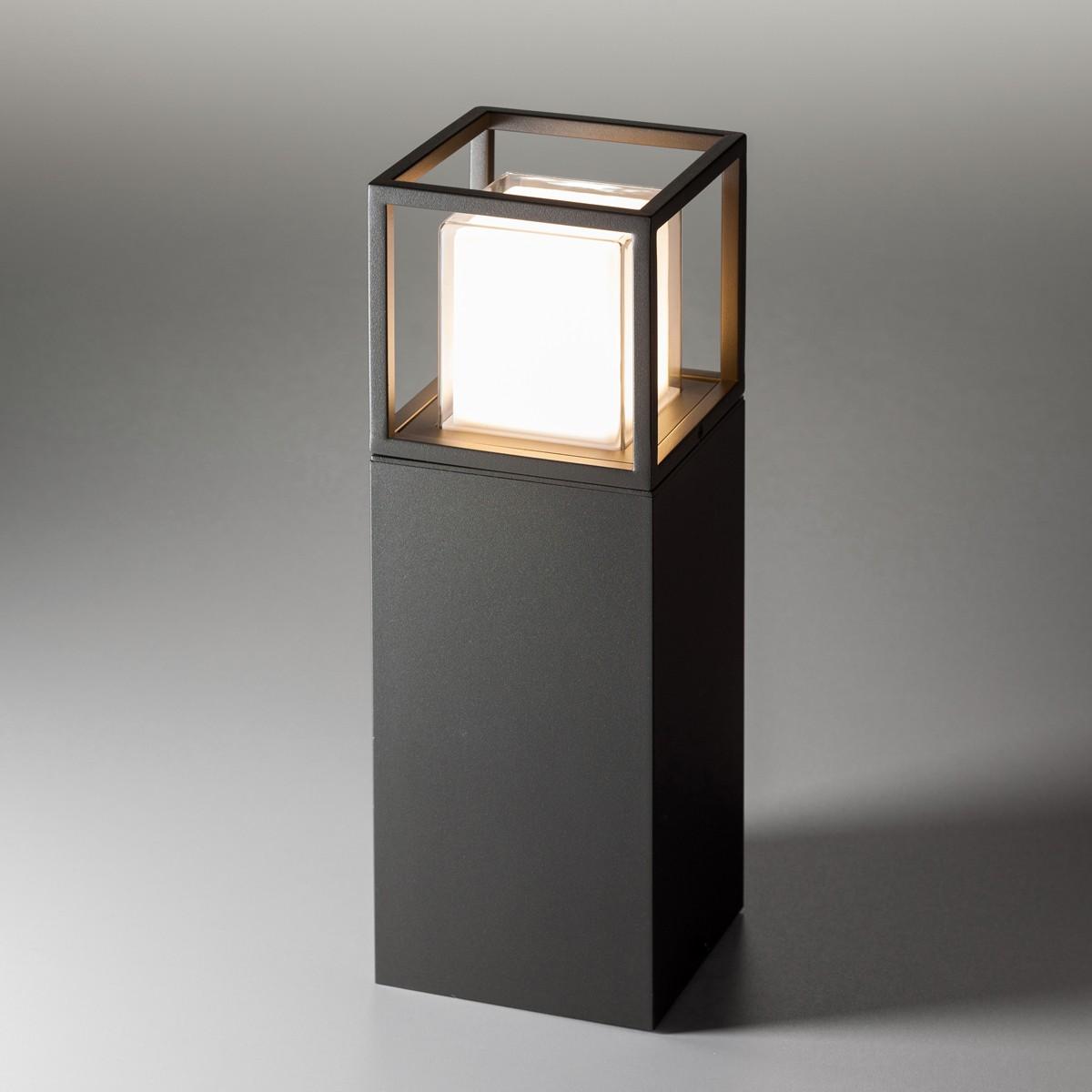 Lupia Licht Quadro S Sockelleuchte, anthrazit