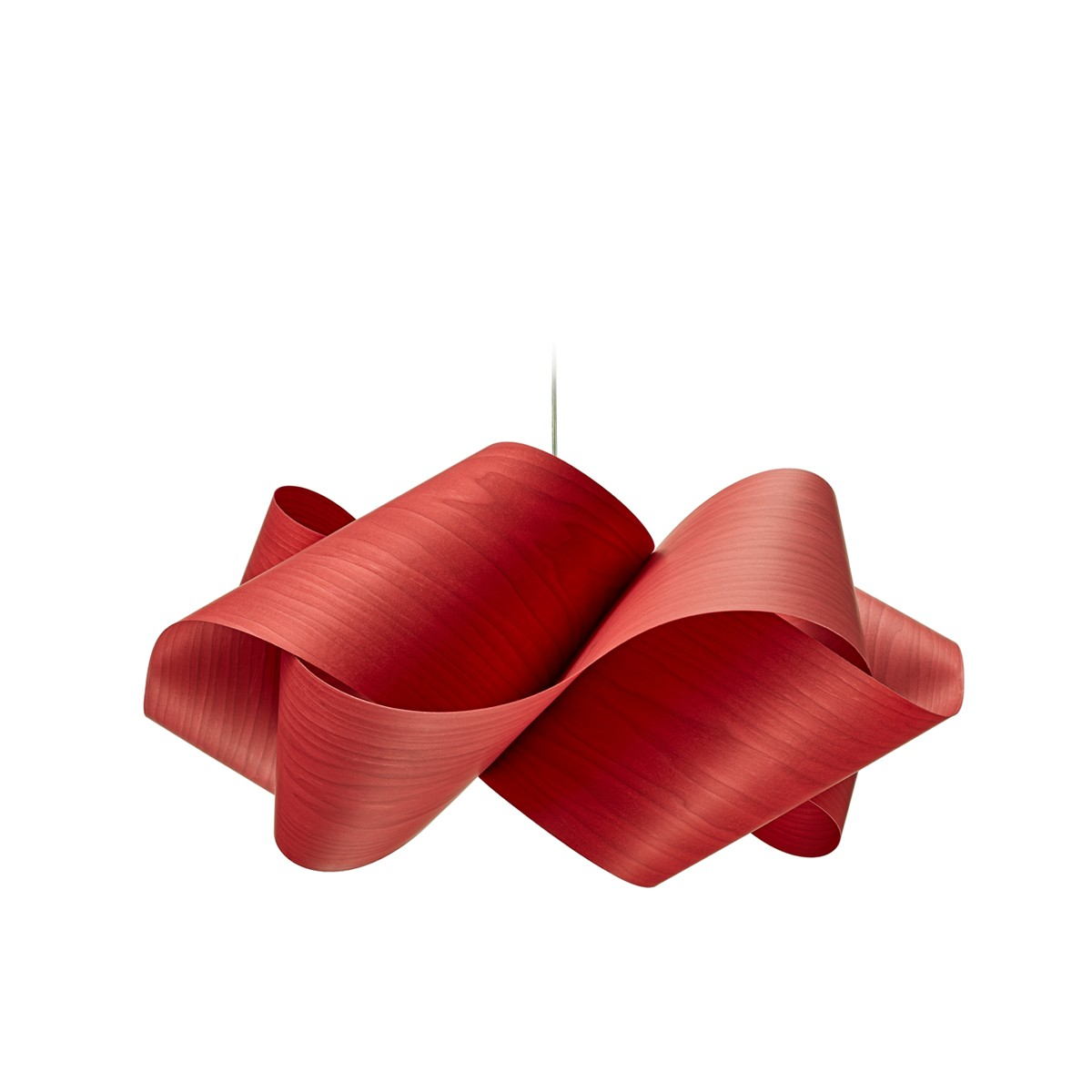 LZF Lamps Swirl Small Pendelleuchte, rot