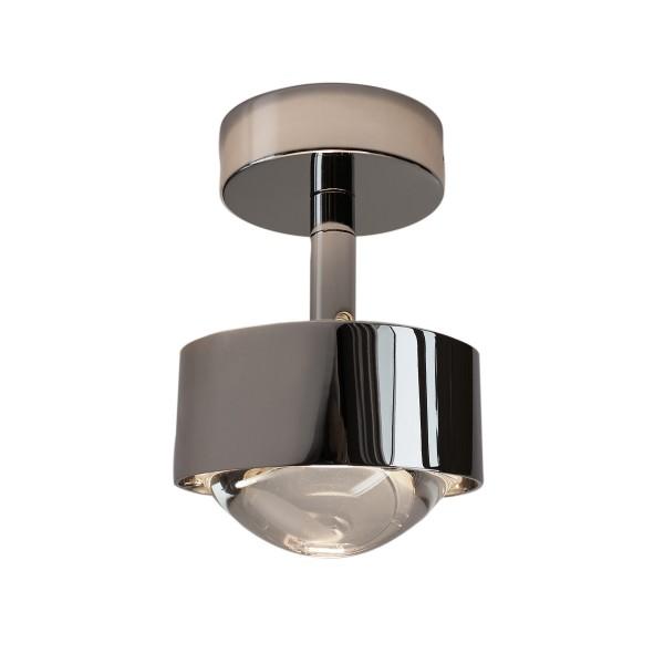 Top Light Puk Turn LED Downlight Deckenleuchte, Chrom glänzend