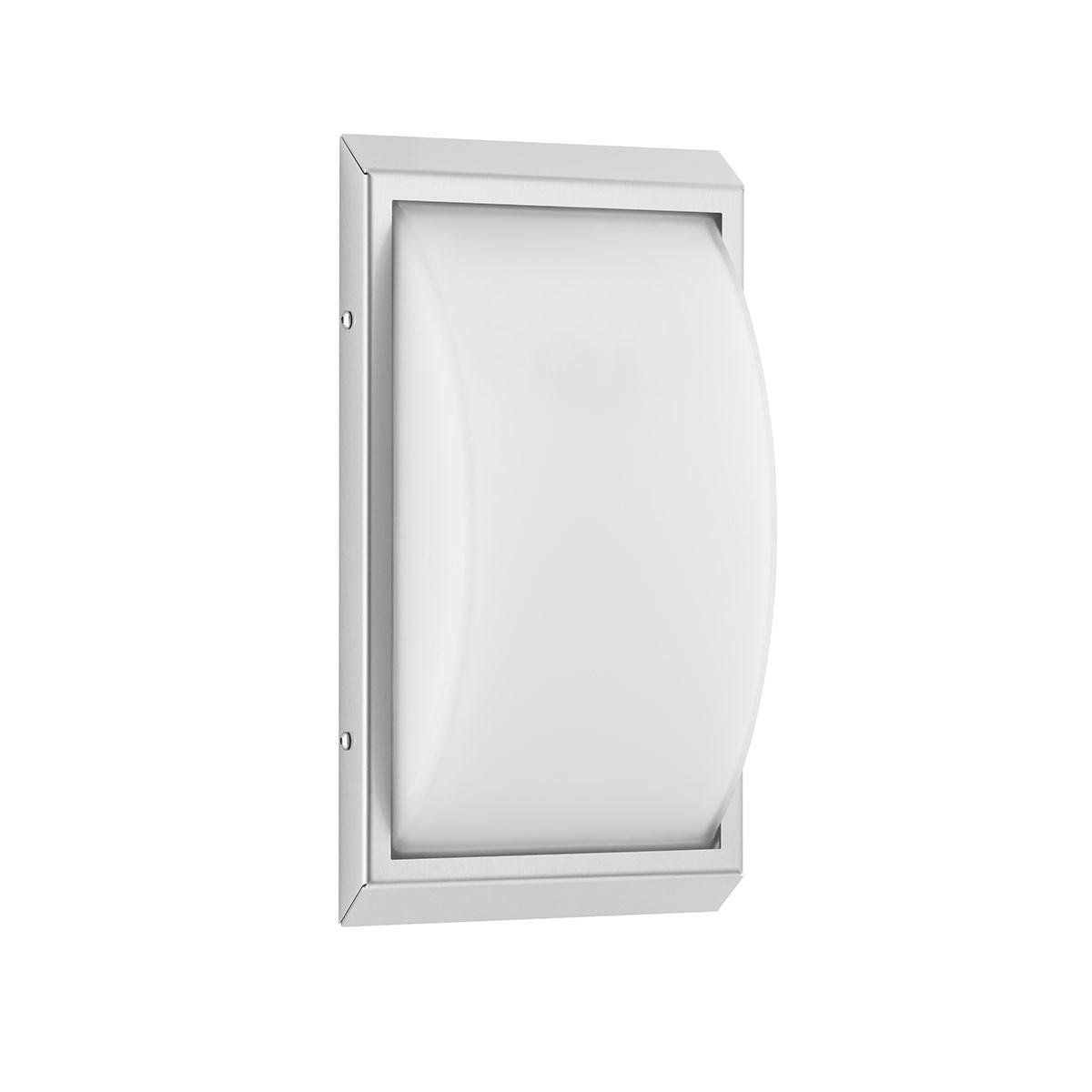LCD Außenleuchten 052 Wandleuchte LED, Edelstahl, ohne Bewegungsmelder