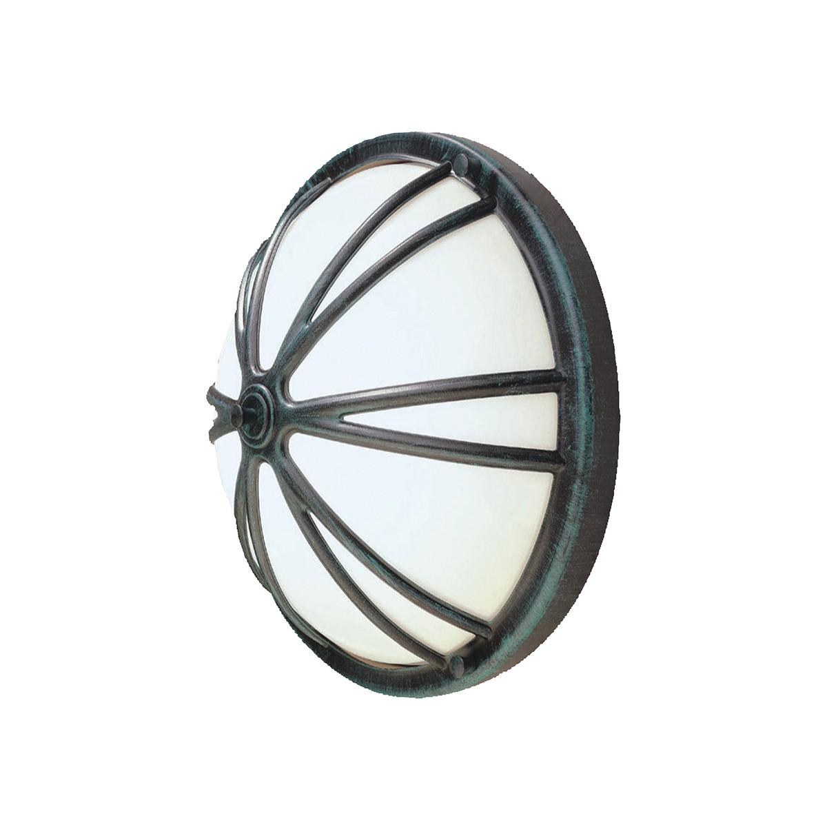 LCD Außenleuchten 1350/1351 Wandleuchte, schwarz / Silber