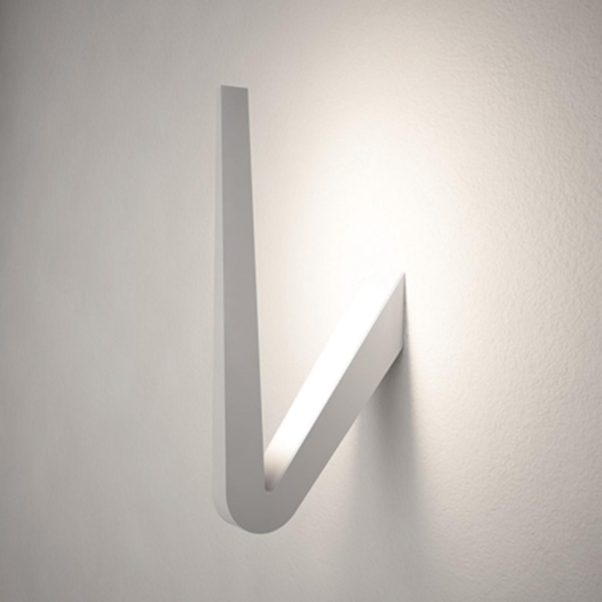Rotaliana Tick W0 LED Wand- / Deckenleuchte, weiß matt