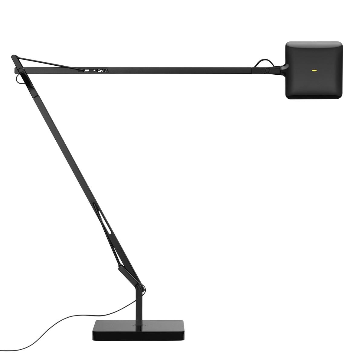 Flos Kelvin LED Tischleuchte, schwarz glänzend